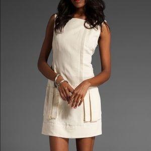 Nanette Lapore Spun Around Shift Dress in Cream